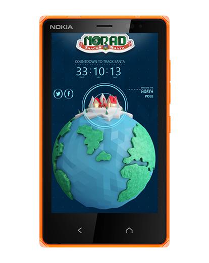 NORAD Tracks Santa приложение