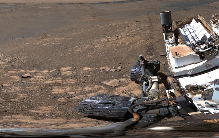 Фото №1 - NASA опубликовало панорамный снимок с Марса в рекордно высоком разрешении
