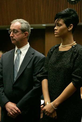 Рианна и ее адвокат