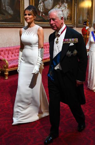 Фото №4 - Как прошел прием в честь Дональда Трампа в королевском дворце