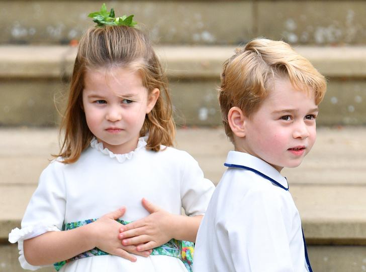Фото №2 - Принцесса Шарлотта станет подружкой невесты на свадьбе своего крестного