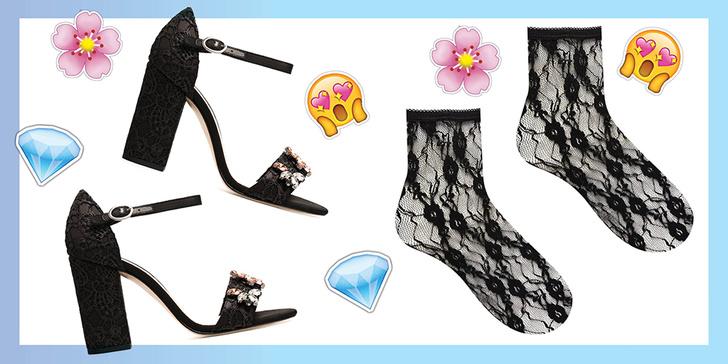 Фото №3 - Как сочетать носки с босоножками, туфлями и ботинками
