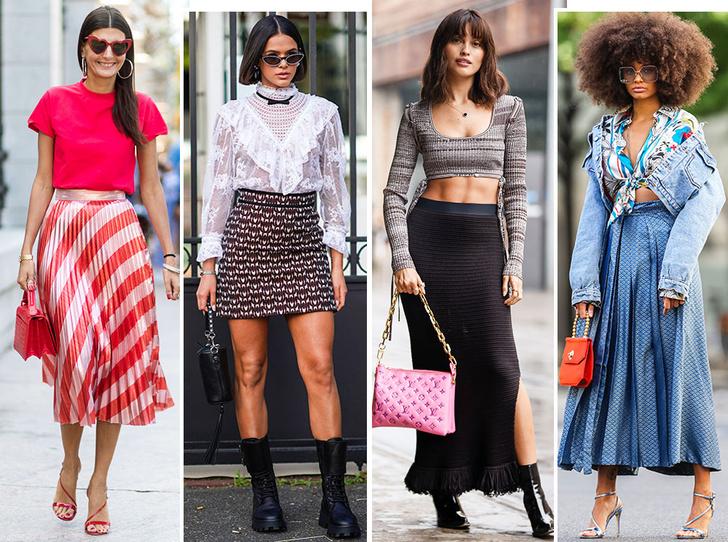 Фото №1 - Как выбрать идеальную юбку по типу фигуры
