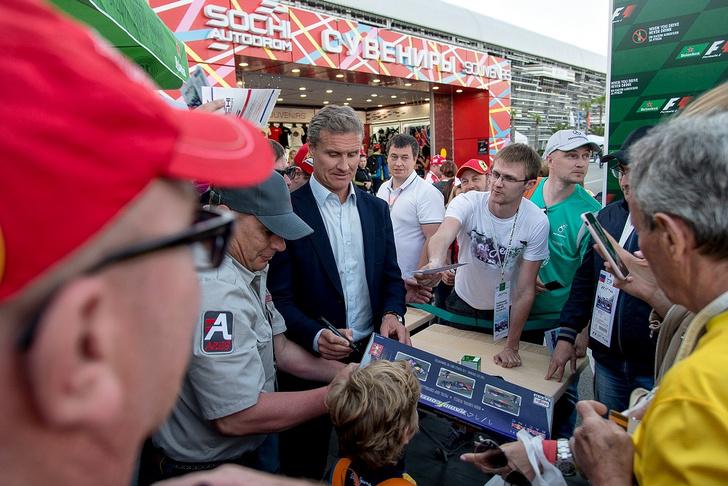 Фото №3 - В Сочи прошла пресс-конференция с гонщиком Дэвидом Култхардом