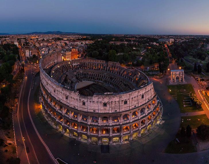 Фото №1 - Ночь в Риме