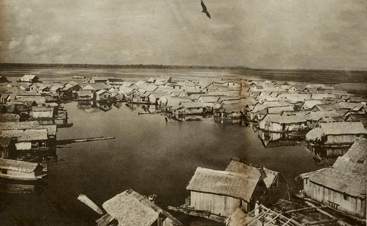Фото №2 - Венеция Амазонии: потерянный «плавучий город» Манауса