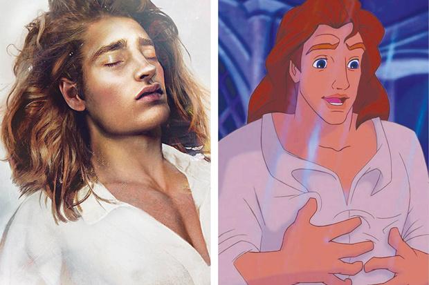принц адам красавица и чудовище