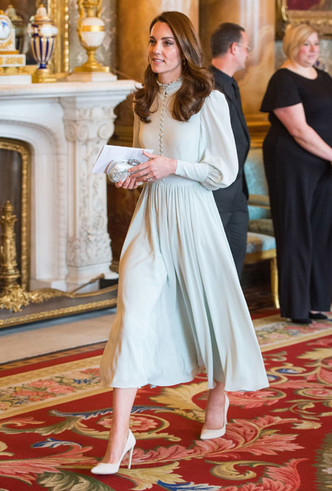 Фото №7 - Лучшие образы герцогини Кейт в 2019 году