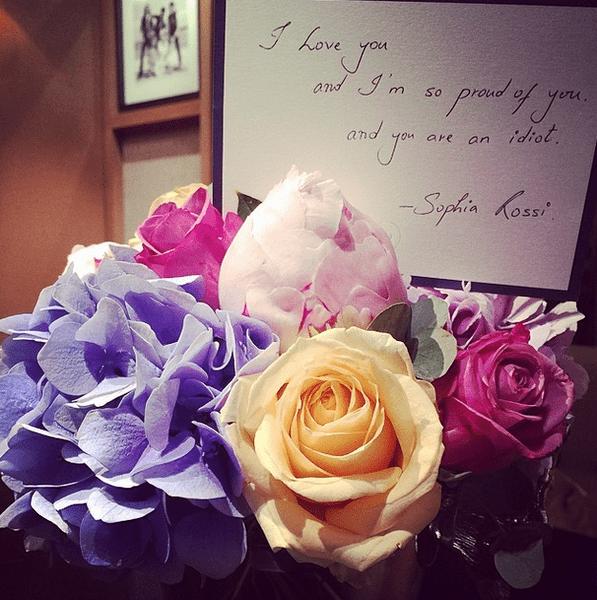 Фото №11 - Звездный Instagram: Знаменитости и цветы