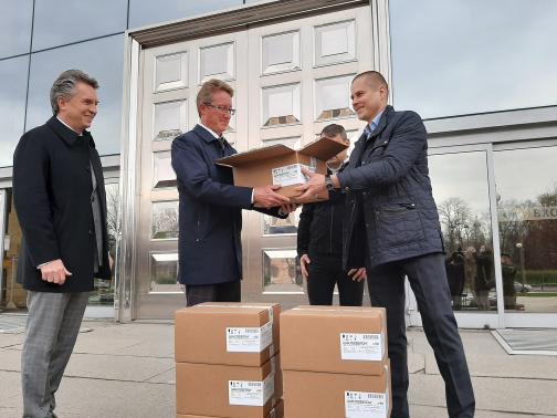 """В стационары Санкт-Петербурга и Ленобласти передали две тысячи упаковок """"Циклоферона"""""""