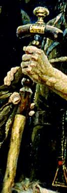 Фото №15 - 16 символов, зашифрованных в картине «Боярыня Морозова»