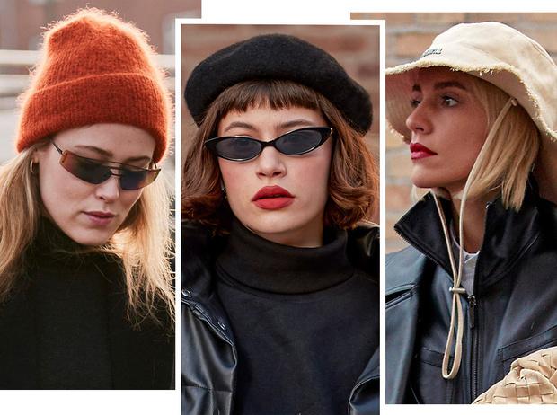 Фото №1 - Шапки, косынки и береты: самые модные головные уборы сезона