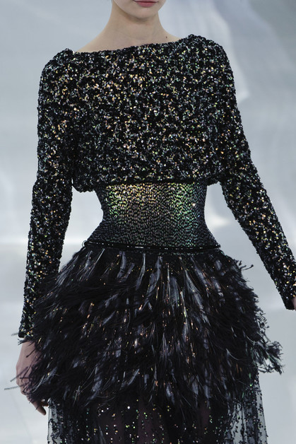 Кутюрная коллекция Chanel, весна-лето 2014