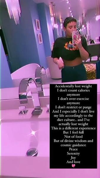 Фото №1 - Как Деми Ловато похудела без диеты 🔥