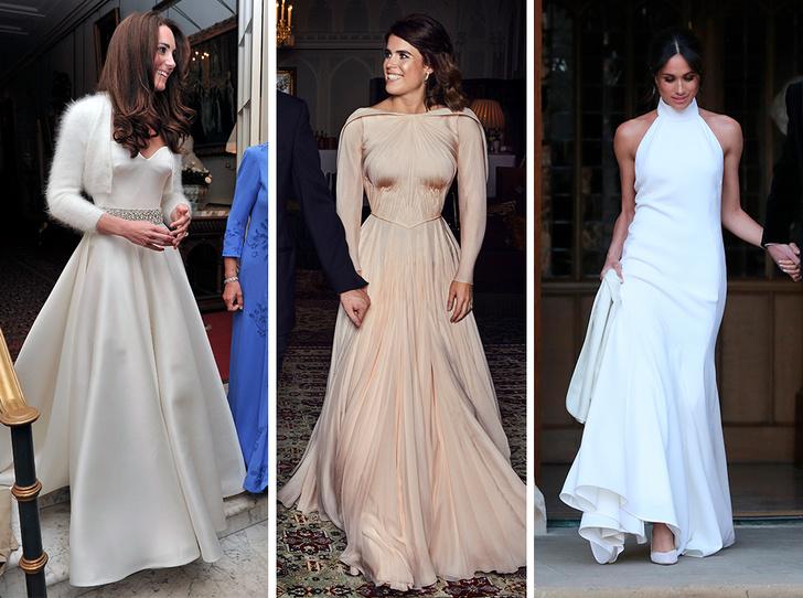Фото №2 - «Хитрое» второе свадебное платье принцессы Евгении