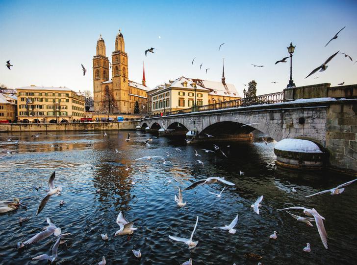 Фото №1 - 5 причин провести следующий отдых в Цюрихе