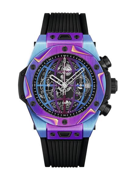 Фото №6 - Часы Hublot x DJ Snake в цветах вечеринки, которую вы не захотите пропустить