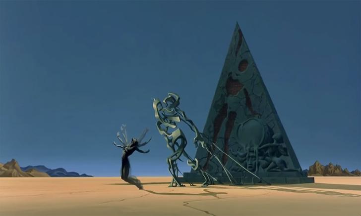 Фото №1 - Короткометражка недели: «Дестино»— мультфильм, который Сальвадор Дали рисовал для Уолта Диснея