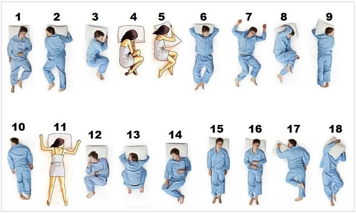 Фото №2 - Загадочная «поза номер 13» для сна озадачила пользователей «Твиттера»