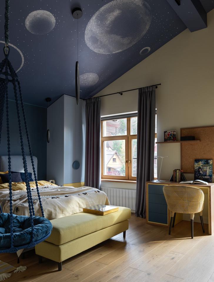 Фото №10 - Загородный дом в пастельных оттенках