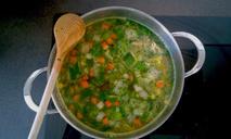 Зеленый борщ рецепт с фото