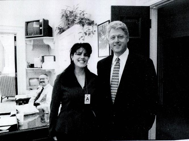 Фото №1 - Клинтон и Левински: новый взгляд на громкий сексуальный скандал