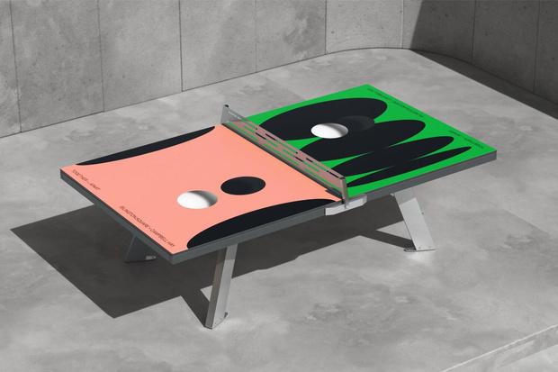 Фото №2 - Дизайнерские столы для пинг-понга: как вам такое решение?