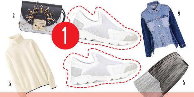 Фото №4 - 5 способов носить белые кроссовки
