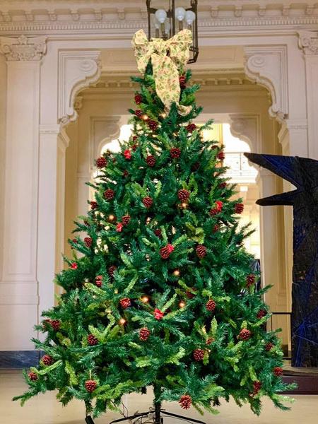 Фото №13 - Праздничное убранство резиденций королей и президентов в ожидании Рождества и Нового года