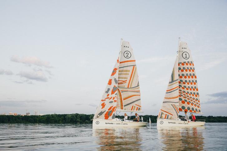 Фото №1 - В Москве проведут модные парусные гонки от Lamoda и Силы ветра