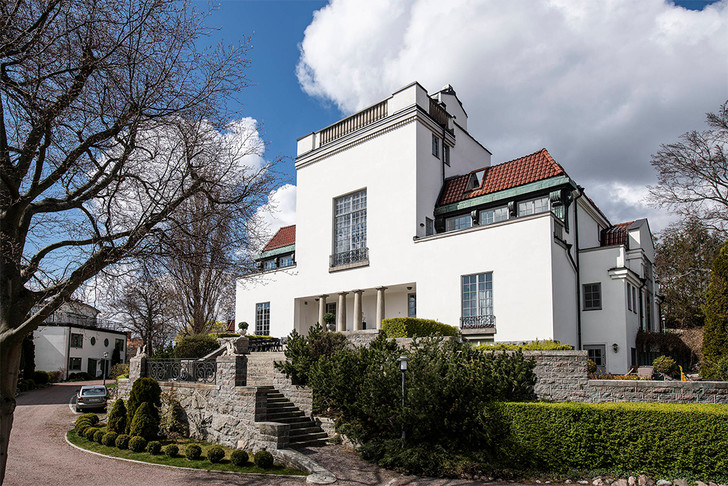 Фото №1 - Мечта о Скандинавии: белый дом в Швеции