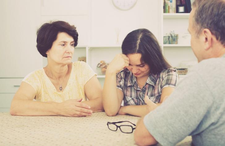 У нашей героини испортились отношения с семьей после того, как она сделала ЭКО