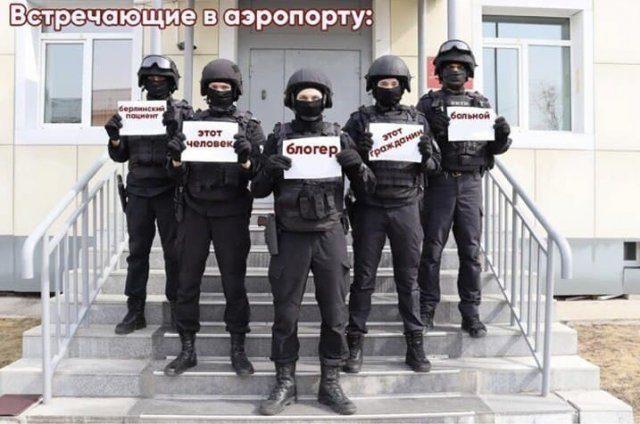 Фото №4 - «Встреча во Внукове»: реакция соцсетей и властей на возвращение и задержание Навального