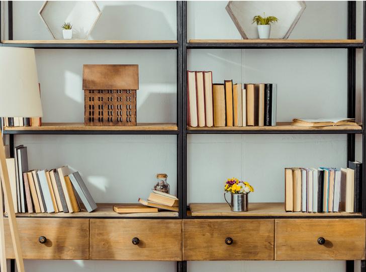 Фото №6 - Здесь живут книги: как красиво оформить домашнюю библиотеку