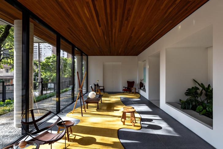 Фото №2 - Яркий интерьер жилого дома в Бразилии