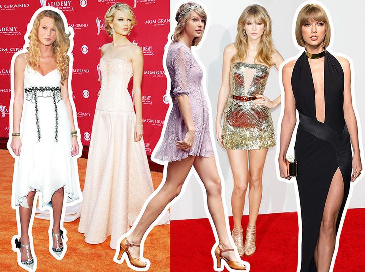 Фото №1 - Look What You Made Me Do: эволюция стиля Тейлор Свифт