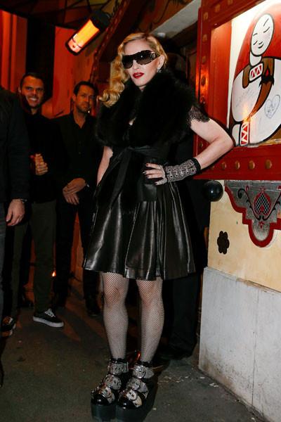 звездные модные провалы Мадонна