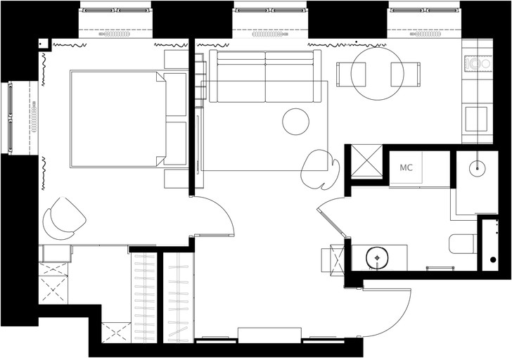 Фото №1 - Планировка маленьких квартир: советы экспертов