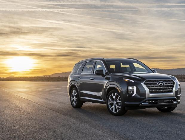 Среди автомобилей доступных по программе Business Mobility будет и новейший внедорожник Hyundai Palisade