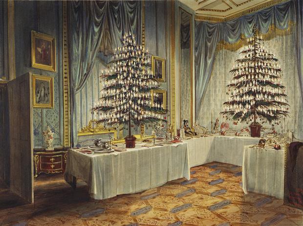 Фото №2 - Встречаем рождество по-королевски: 10 правил этикета за столом