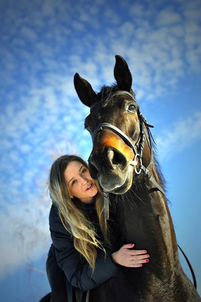 Девушки на коне: романтичные наездницы Ульяновска: фото