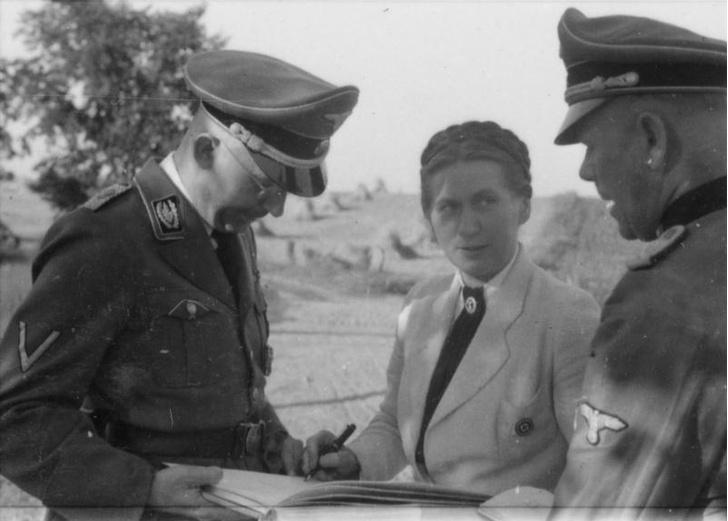Штольц-Клинк и Гиммлер