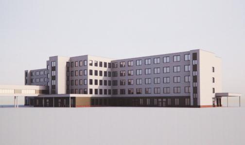 Фото №1 - В Смольном показали, как будет выглядеть новый корпус Госпиталя для ветеранов войн