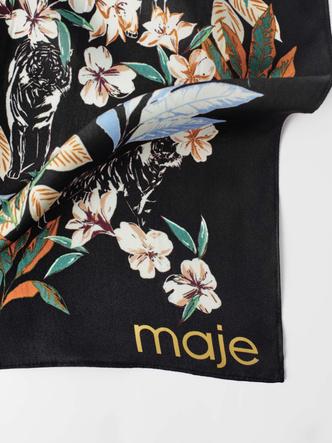 Фото №3 - Женственные и элегантные: лучшие наряды с платочным принтом в новой коллекции Maje