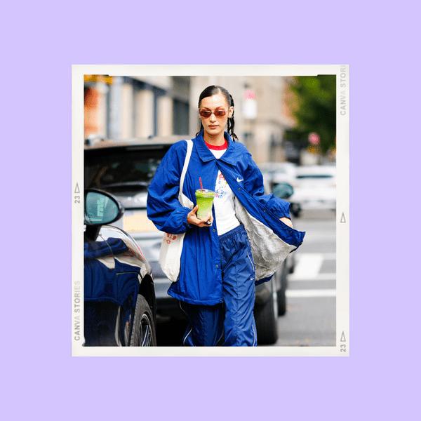 Фото №1 - Ставим лайк: спортивный костюм как у Беллы Хадид, который выглядит нереально стильно