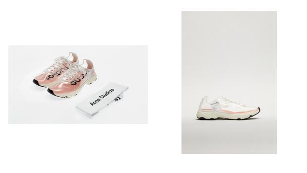 Фото №2 - Обувь для дождливого лета: Acne Studios выпустили кроссовки из непромокаемого материала