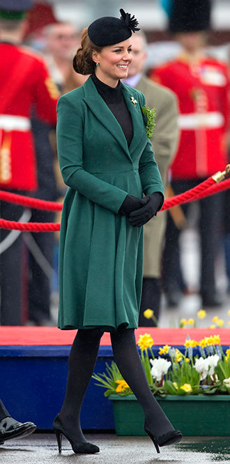Фото №14 - В модном положении: две беременности герцогини Кембриджской (сравним?)