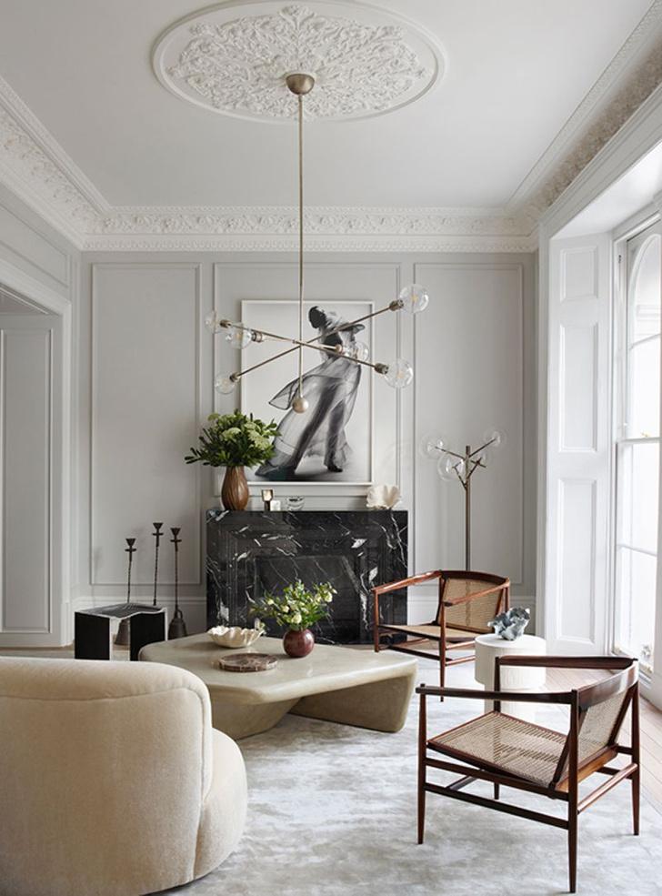Фото №4 - Светлая квартира с винтажной мебелью в Лондоне