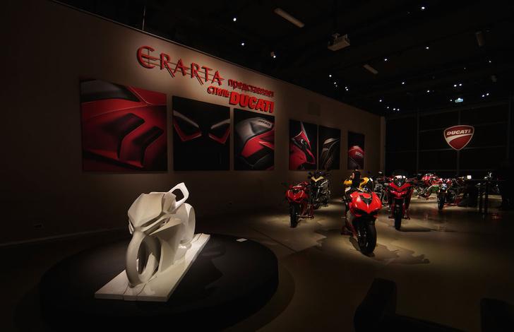 Фото №1 - В Петербурге открылась выставка «Стиль Дукати»