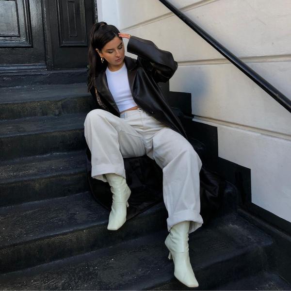 Фото №1 - Модные ботинки на осень 2021: 5 стильных моделей, которые точно тебе понравятся